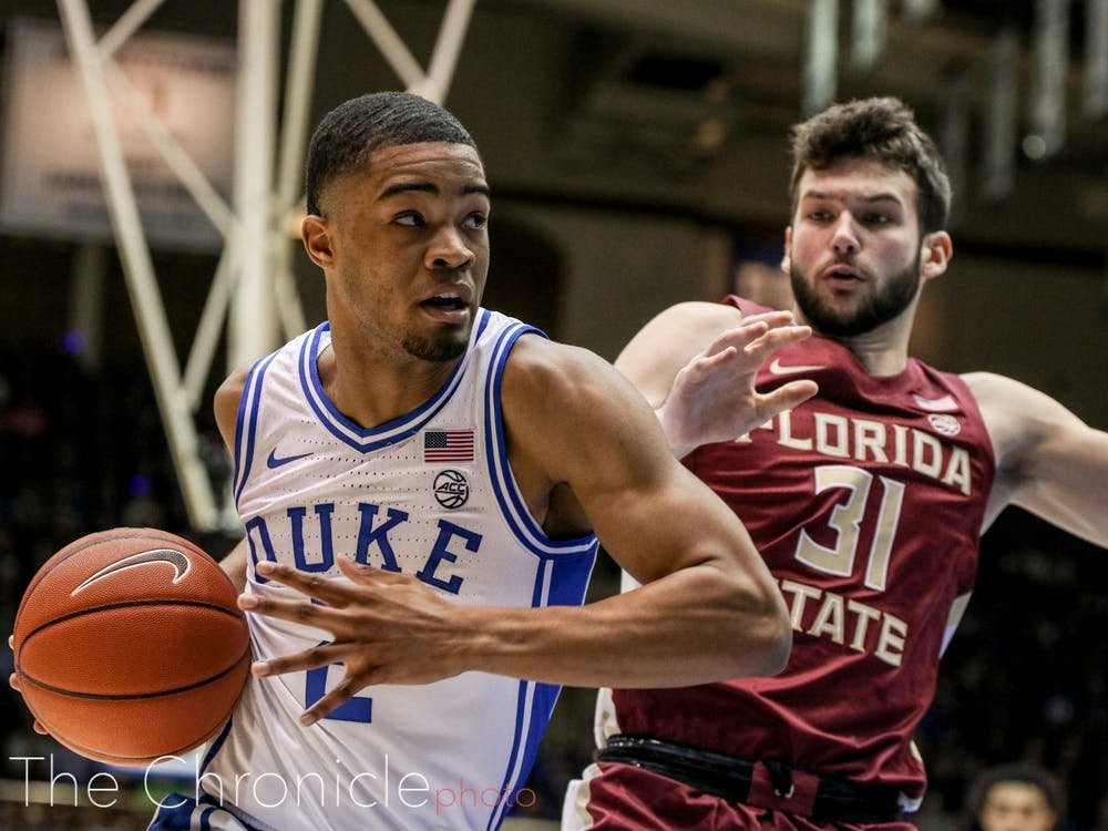 Duke's win against Florida State could prove to be a turning point this season
