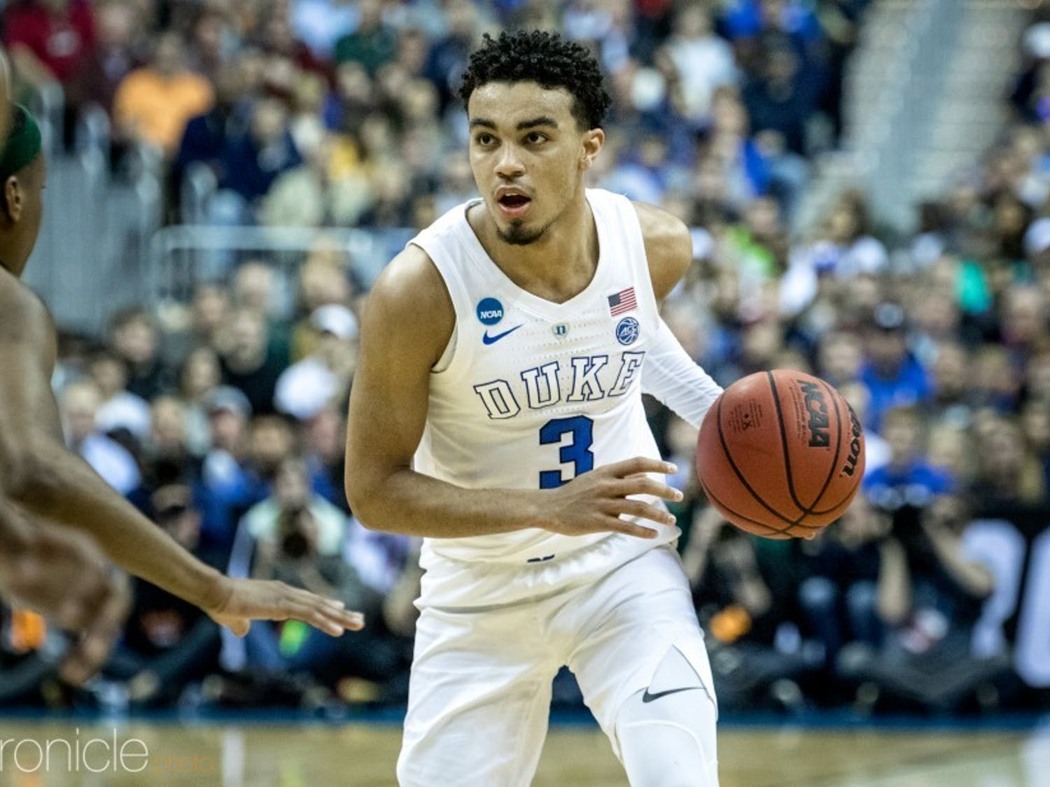 Tre Jones could've followed in his brother's footsteps. Instead, he'll return to Durham for a second collegiate season.