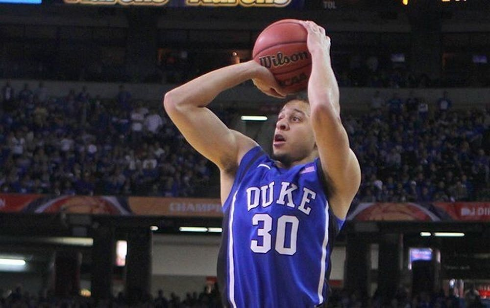 <p>Seth Curry is averaging 12.9 points per game on a 43.2% clip from beyond the arc.&nbsp;</p>