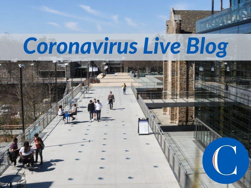 Live Blog Duke During The Coronavirus Pandemic The Chronicle