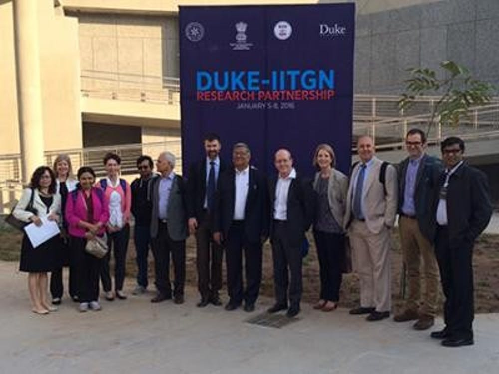 <p>Collaborations between Duke and IITGN aim to increase innovation and provide opportunities for undergraduates from both schools to work in environmental science and engineering.</p>