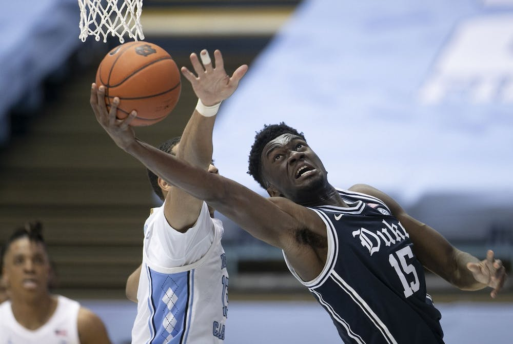 Freshman center Mark Williams finished the season with double-digit scoring performances in five of his last six games.