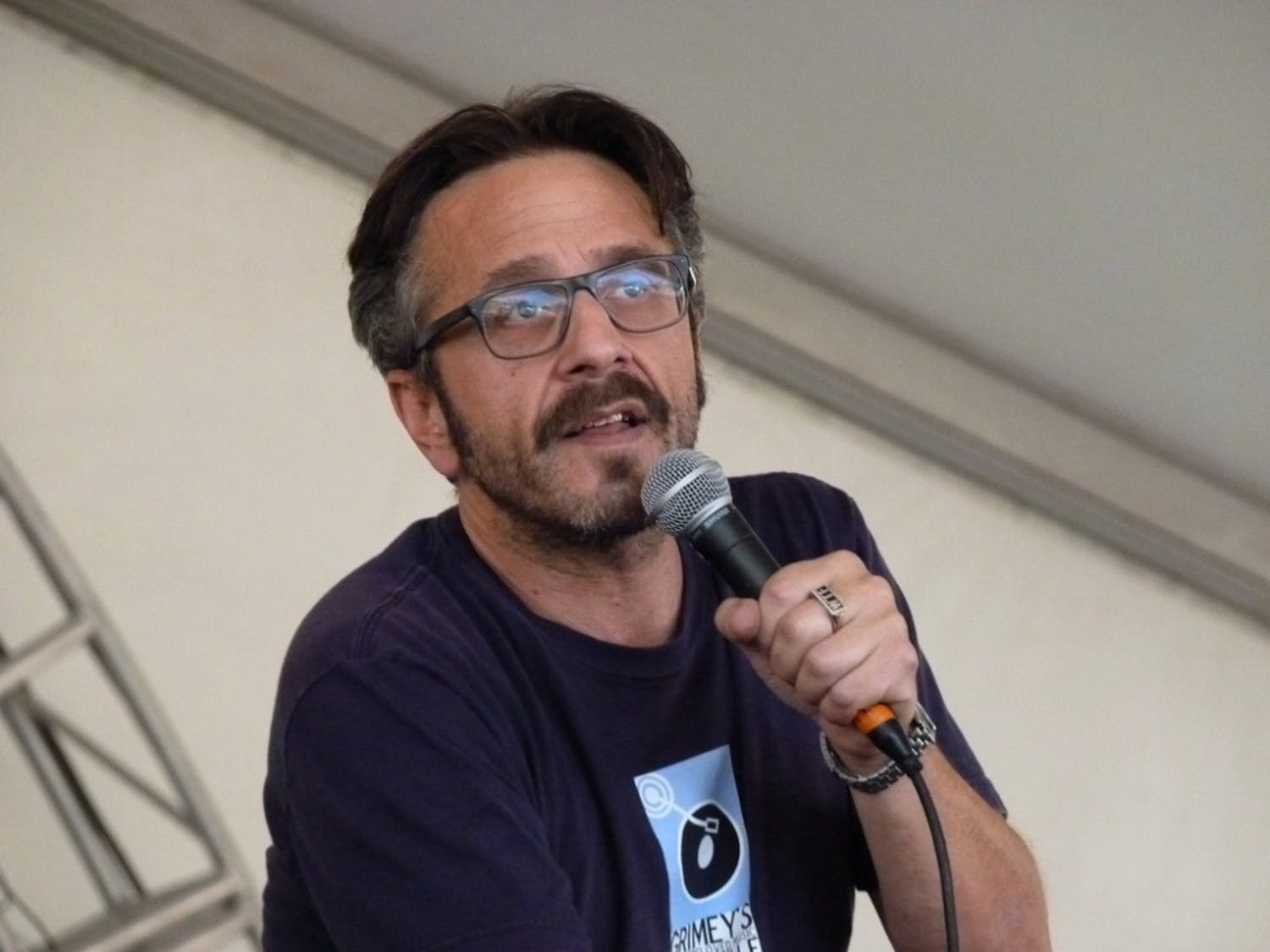 Marc Maron performed at The Carolina Theatre last Friday.