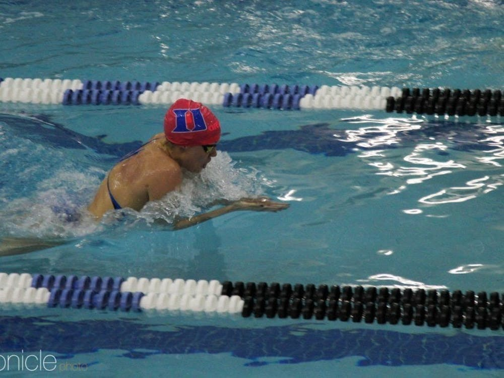 The Blue Devils swam past the Tar Heels this weekend.