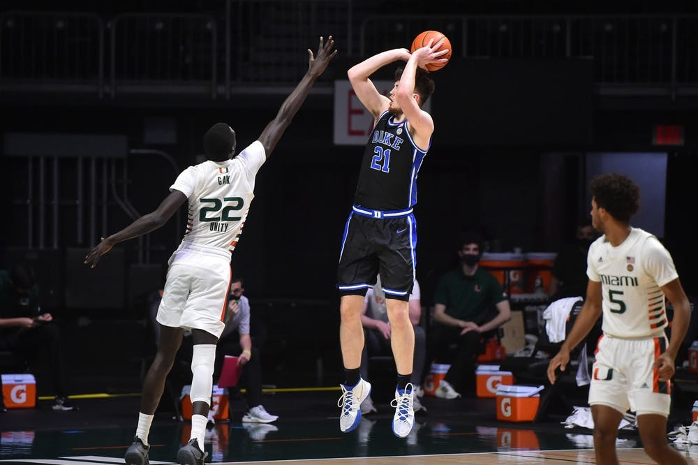 The big question for Duke against Notre Dame will be if Hurt returns to performing at the level he was prior to the North Carolina game.