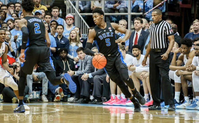 Beyond a 21st ACC tournament title, there's lots at stake for Duke this week as it heads to Charlotte with a chance to lock up a No. 1 seed.