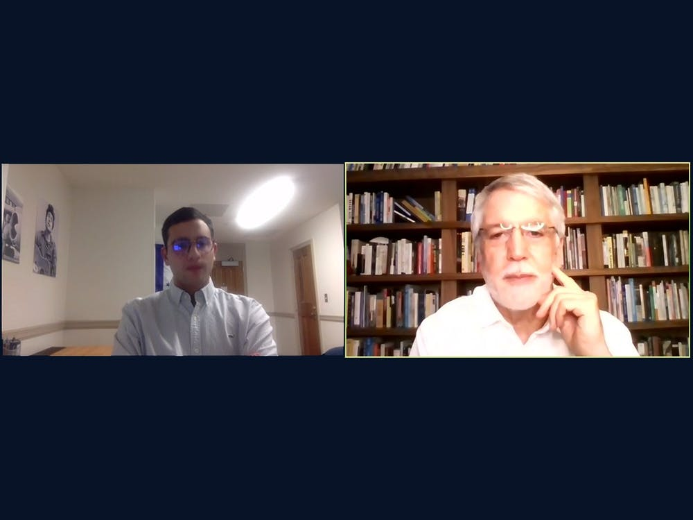 <p>In a virtual talk hosted by Duke's Latin American Student Organization, Enrique Peñalosa, Trinity '77 and former mayor of Bogota, Colombia, discussed his work as the mayor of Bogotá, his views on democracy and his time as an undergraduate at Duke.&nbsp;</p>