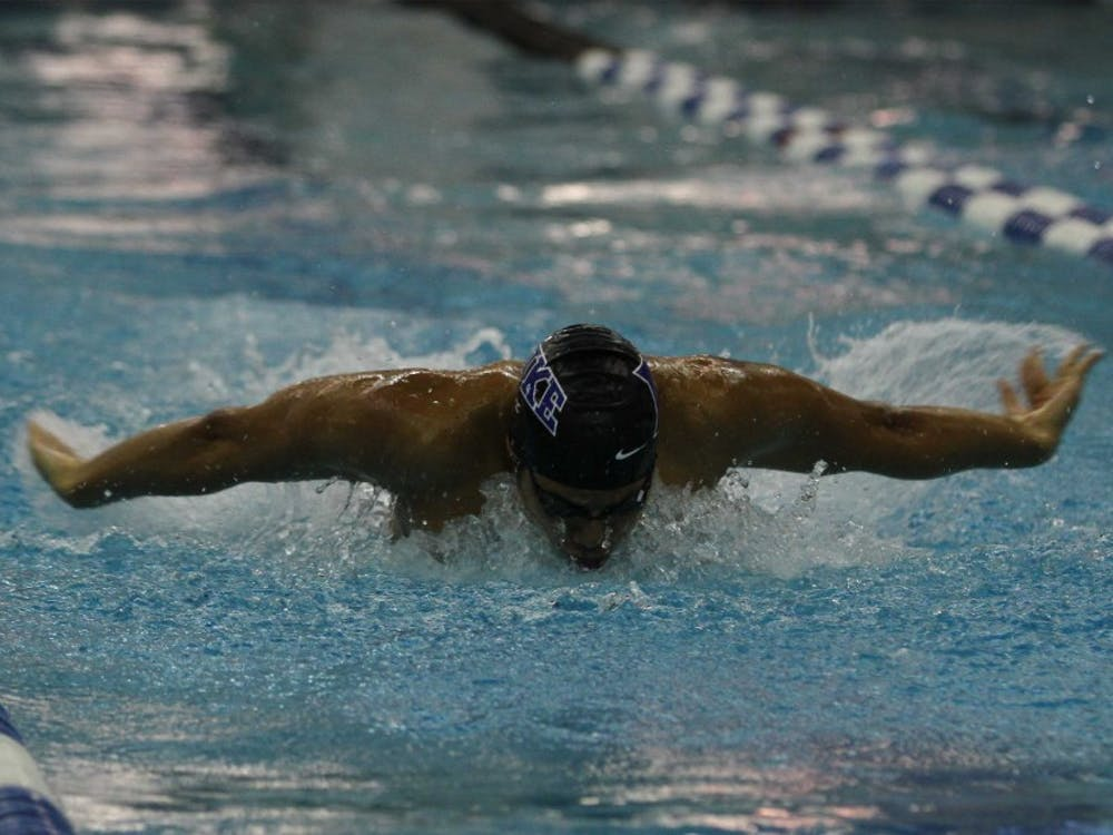 The Blue Devil men broke 11 school records en route to a ninth-place finish at the ACC Championships.