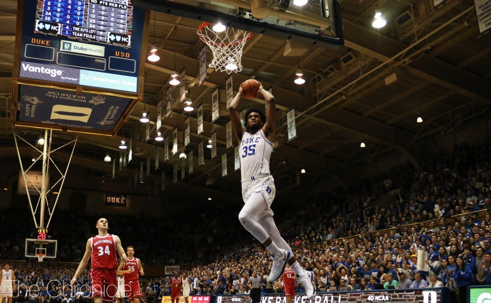 Marvin Bagley III has exceeded expectations as Duke's most dominant player thus far.
