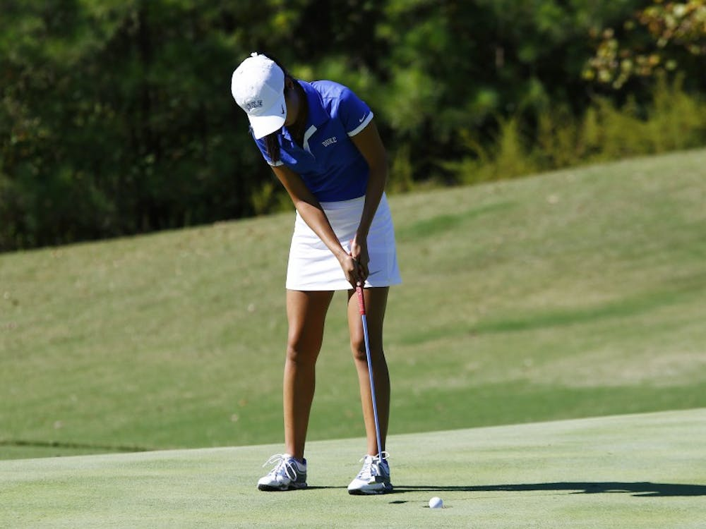 Junior Sandy Choi paced Duke at the NCAA regional by finishingtied for fourth individually.
