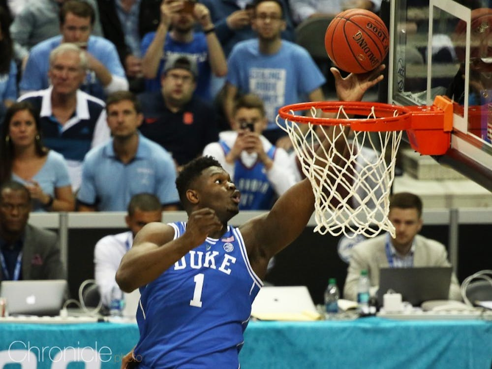 Zion Williamson spent more time in the stratosphere than any other player this season.