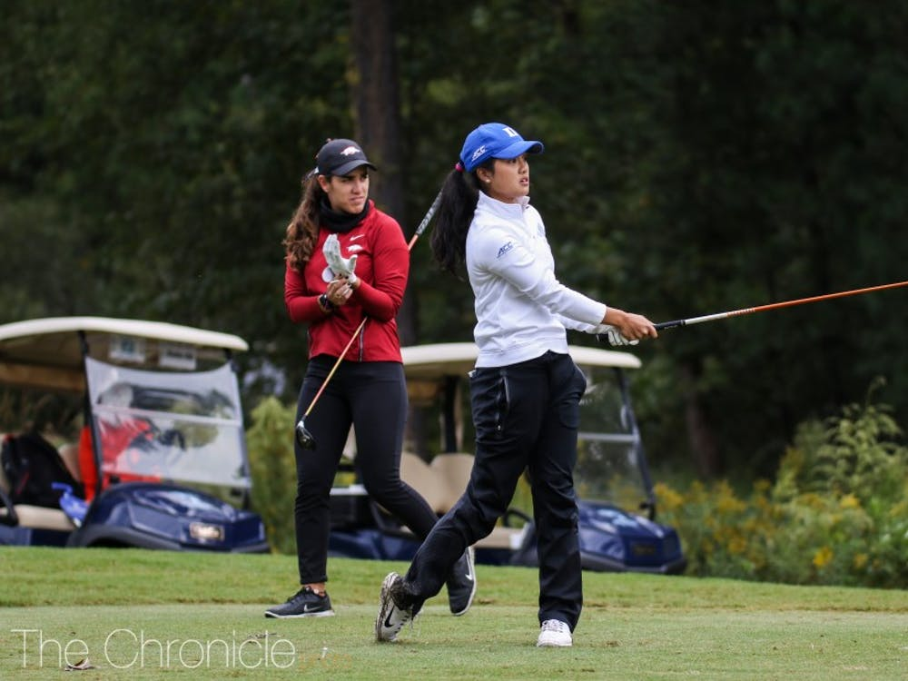 Each of Duke's golfers turned in a solid performance this weekend.