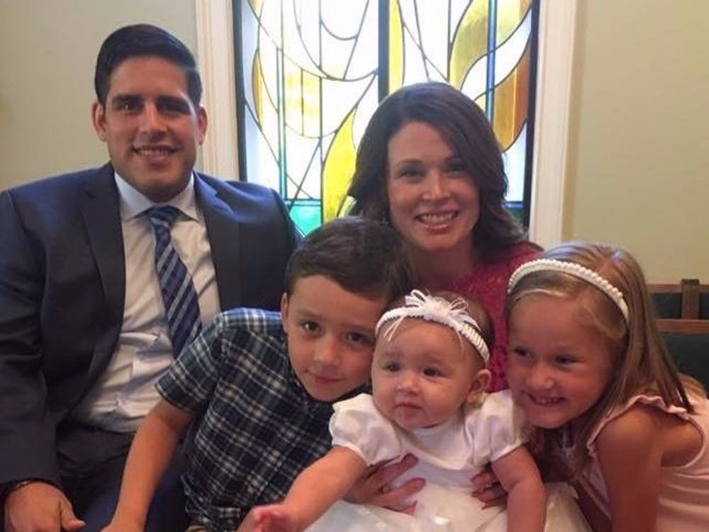 Photo of Gonzalez and his family from his GoFundMe page.