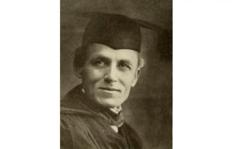 John C. Kilgo, former president of Trinity College, gave a speech honoring Confederate Gen. Robert E. Lee in 1907.