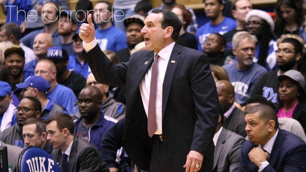 Small forward A.J. Griffin gave Duke head coach Mike Krzyzewski a thumbs-up by committing to his 2021 class.