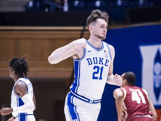 Matthew Hurt leads the ACC in scoring with 18.5 points per game.