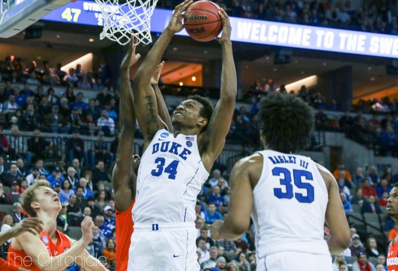 Bagley and Carter should look to go to work in the paint against Kansas.