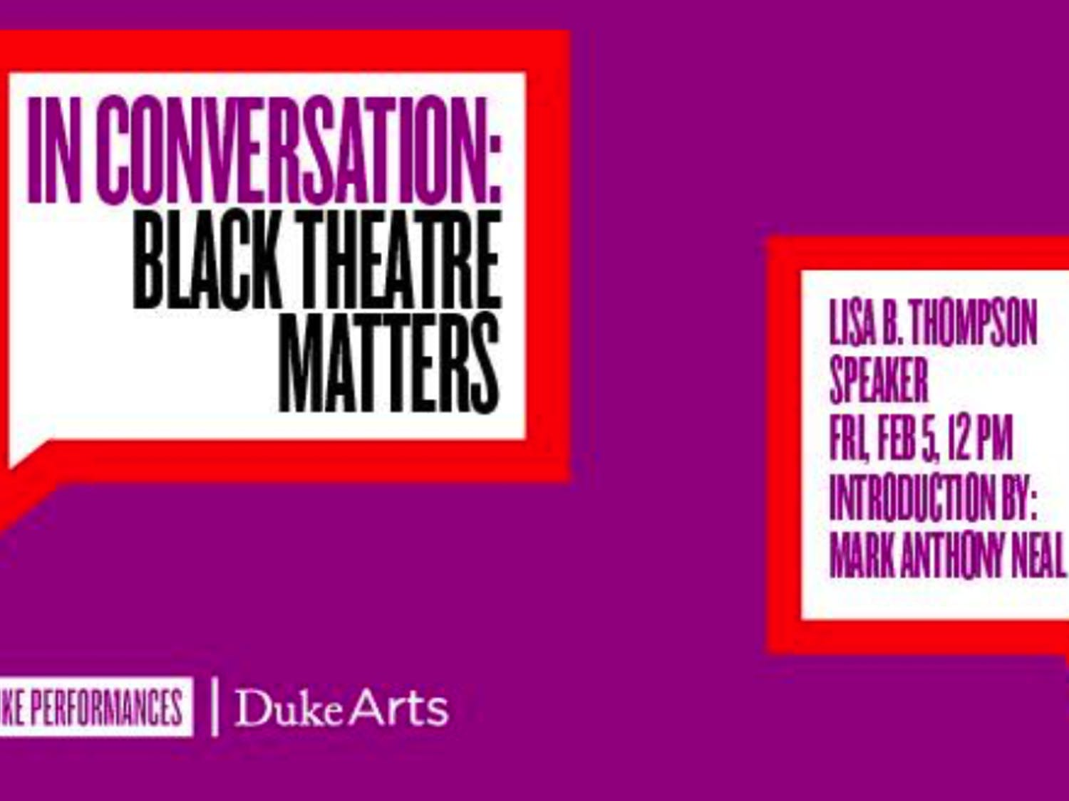 """The collaborative event series """"In Conversation"""" promises to create a dialogue between students and guests about the power of the arts."""