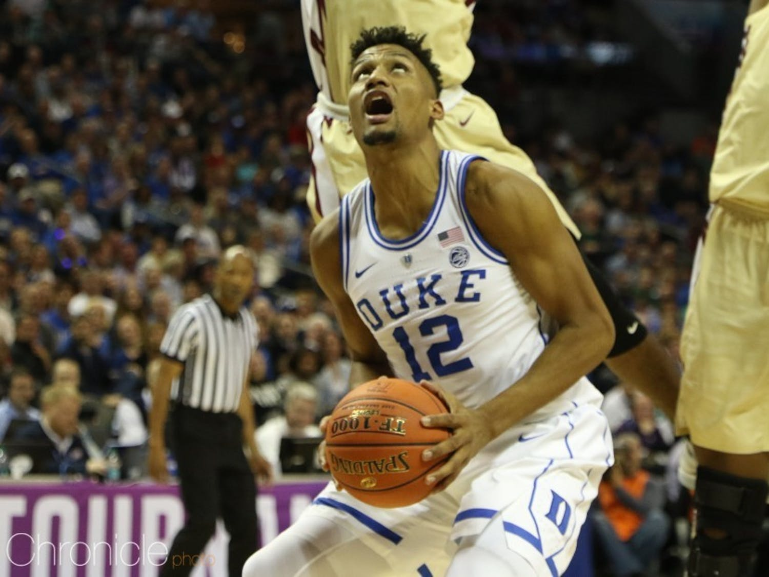 Javin DeLaurier has proved to be a strong leader and solid defender at Duke.
