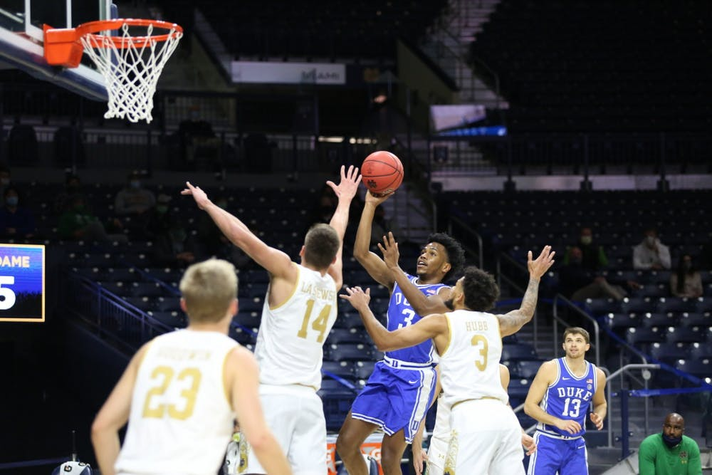 Point guard Jeremy Roach impressed yet again for the Blue Devils, but he wasn't the only freshman to do so Wednesday night.
