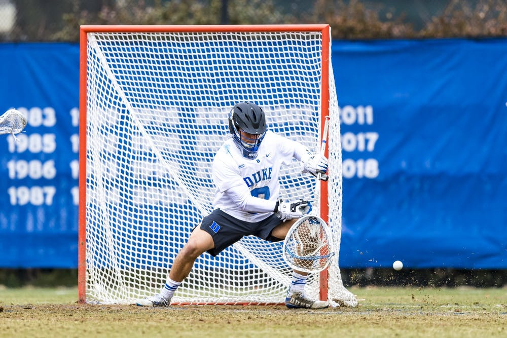 Transfer goalie Mike Adler continues to show why he was a preseason All-American.