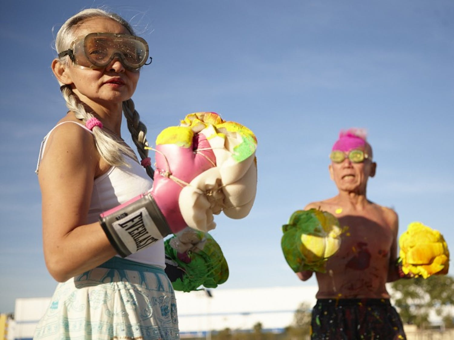 """The film """"Cutie and the Boxer"""" will kick-off this years winter series. / Image Special to The Chronicle"""