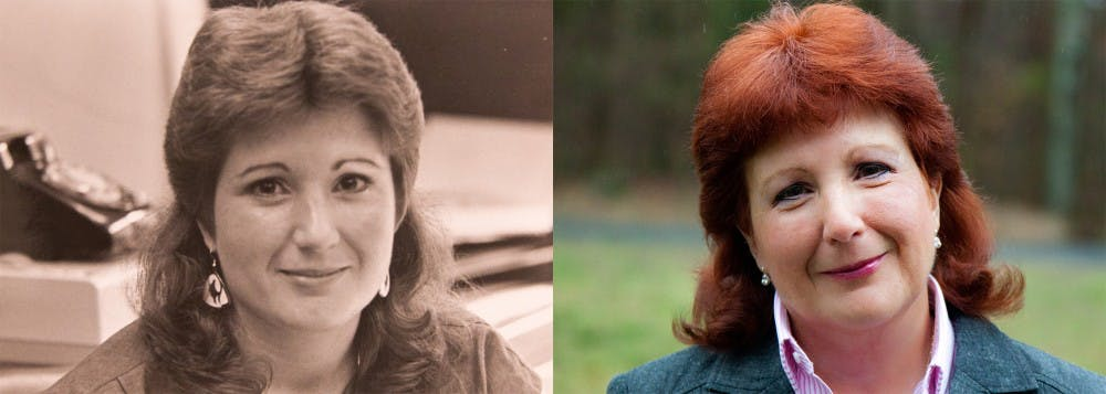 Left: Sept. 2, 1985, by Brian Chen | Right: 2014, Special to the Chronicle