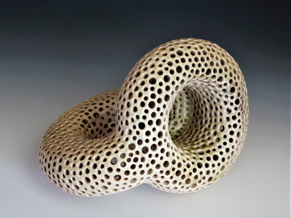 Claymakers community member Elizabeth Paley has taken to sculpting representations of Klein bottles.