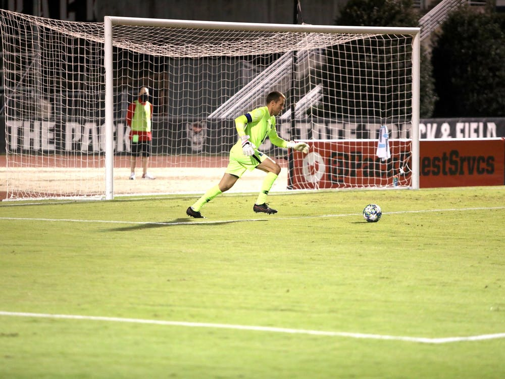 Duke goalie Will Pulisic will have his hands full against the Tigers.