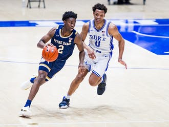 Duke struggled mightily on the defensive end Tuesday against Notre Dame.