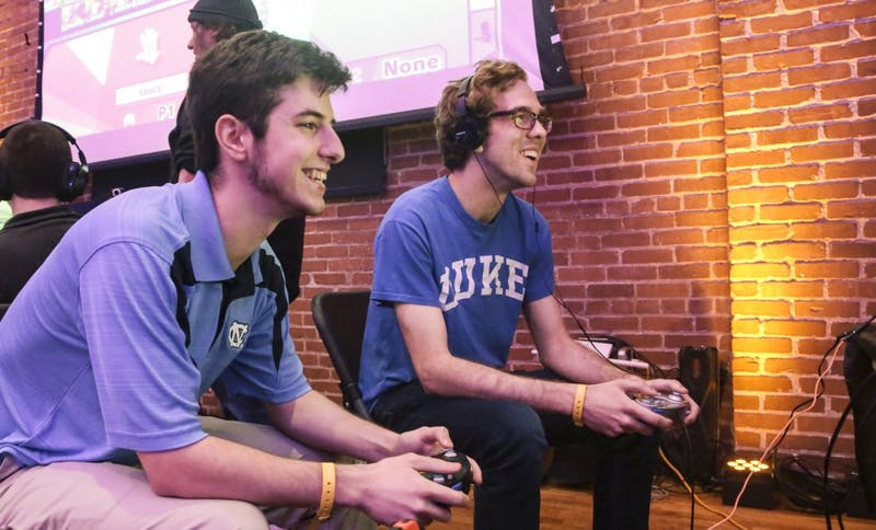 Duke and North Carolina battled it out on the consoles last weekend.