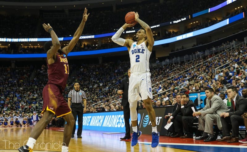 Gary Trent Jr. shot better than 40 percent from 3-point range this year.