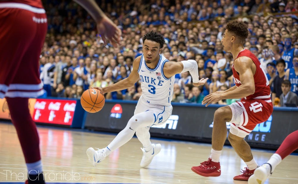 <p>With a busy academic schedule, Duke did not play last week.</p>