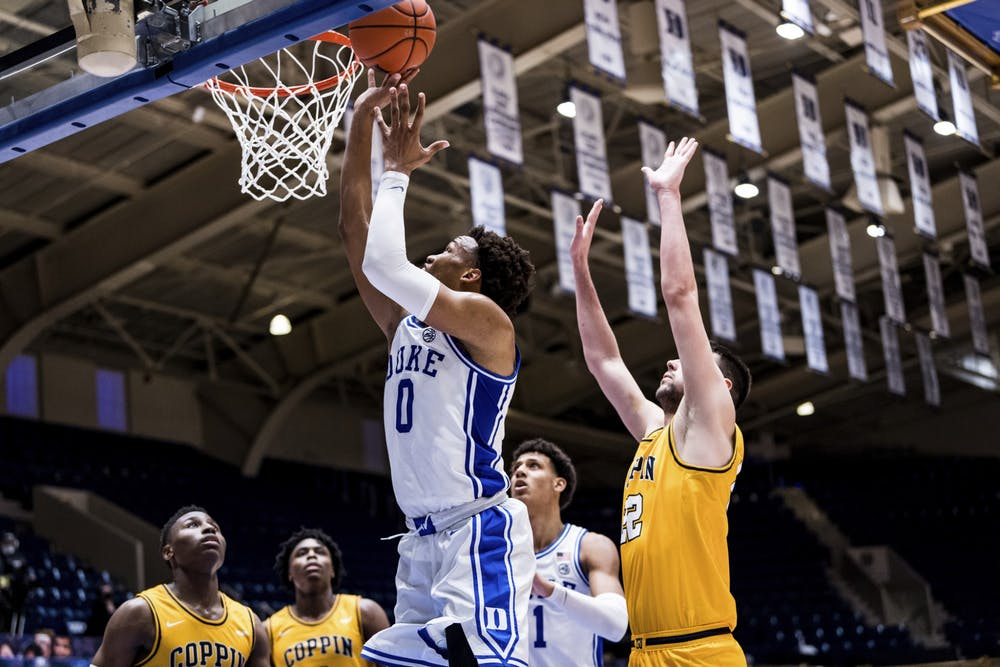 <p>After topping Coppin State on Saturday, Duke finds itself as the highest-ranked ACC team.&nbsp;</p>