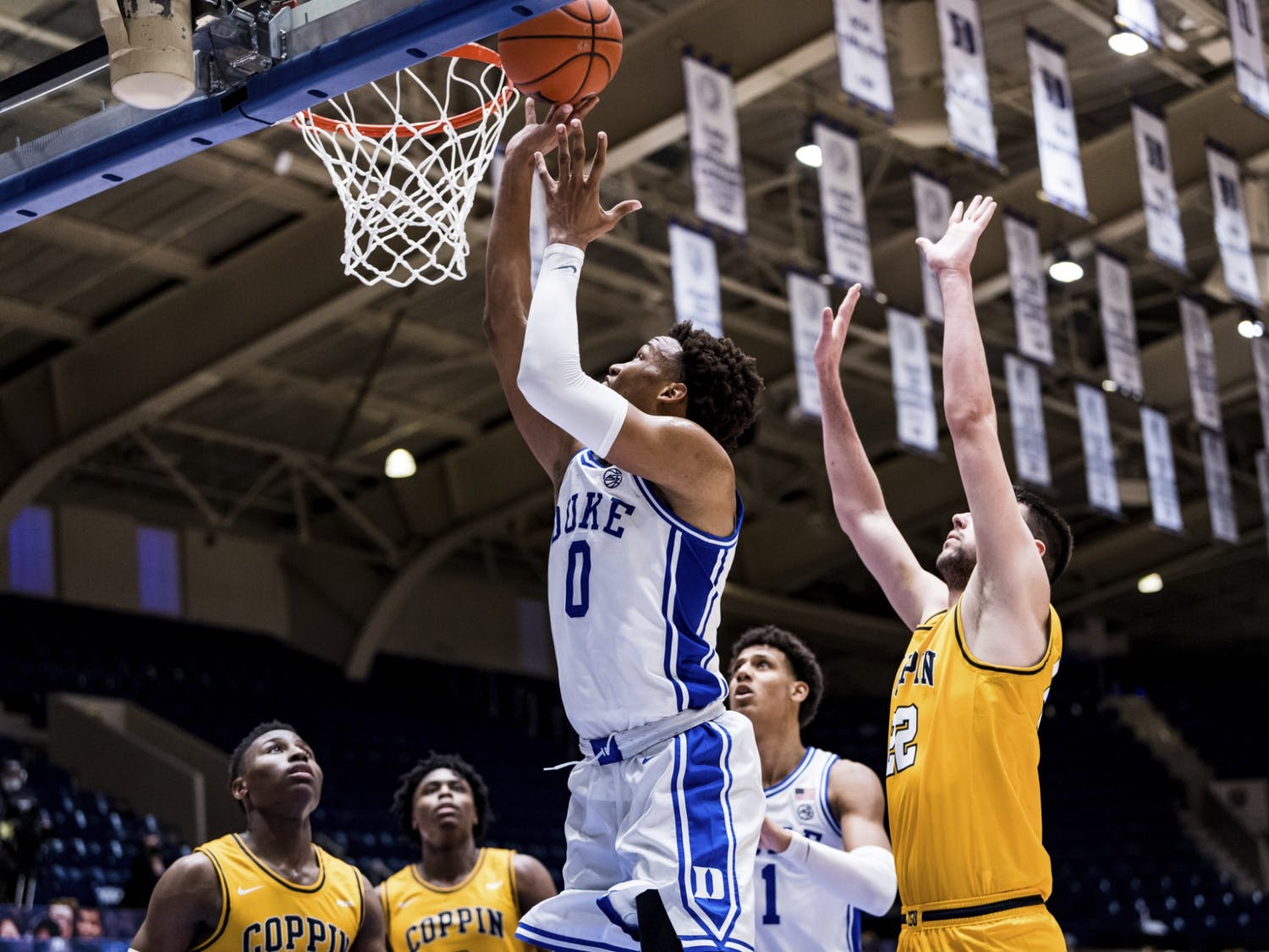 After topping Coppin State on Saturday, Duke finds itself as the highest-ranked ACC team.