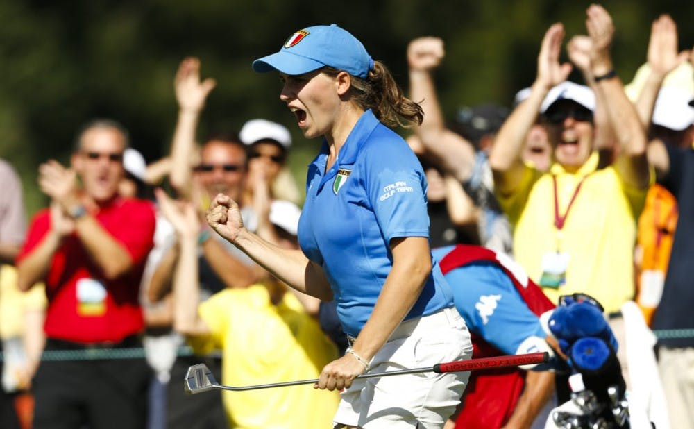 <p>Virginia Elena Carta was recently named one of nine finalists for the 2019 NCAA Woman of the Year award.</p>