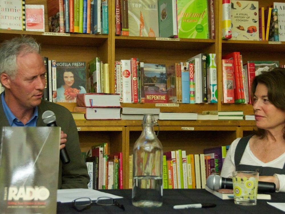 "John Biewen, pictured at a discussion of his book ""Reality Radio"" in 2010, released ""Seeing White"" earlier this year."