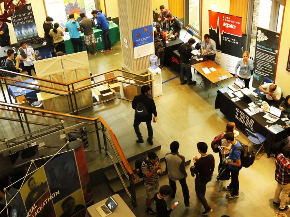 Teams of students from across the country gathered this weekend for the third annual HackDuke technology competition.