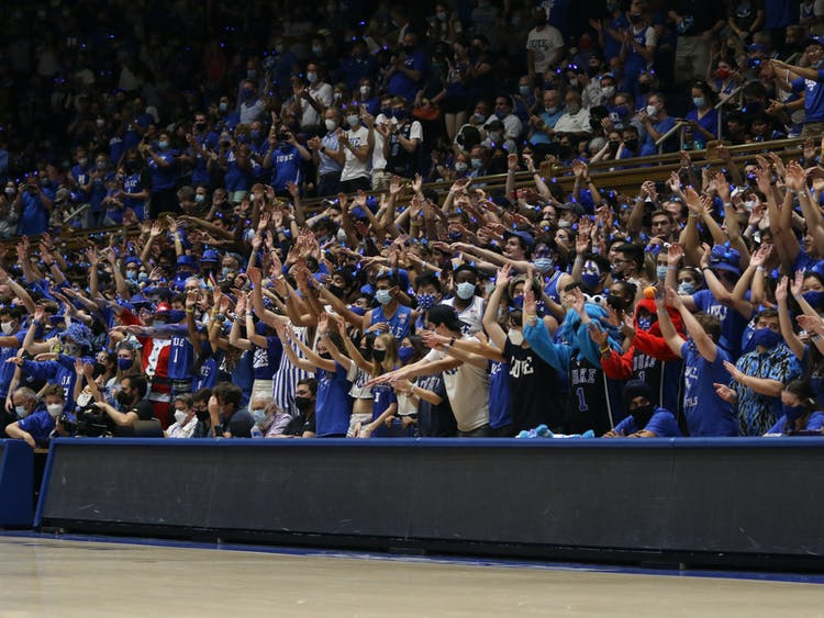 Three recruits from the class of 2022—Dereck Lively II, Dariq Whitehead and Mark Mitchell, the first two having already committed—attended Countdown to Craziness Friday.