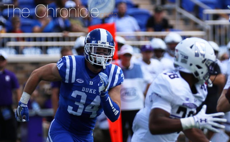 Ben Humphreys will play a key role in leading Duke's defense.