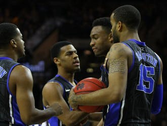 Duke's loss to Notre Dame Saturday was the latest defeat the Blue Devils have suffered wearing their black alternate jerseys, which have often accompanied upset defeats in the past 16 seasons.