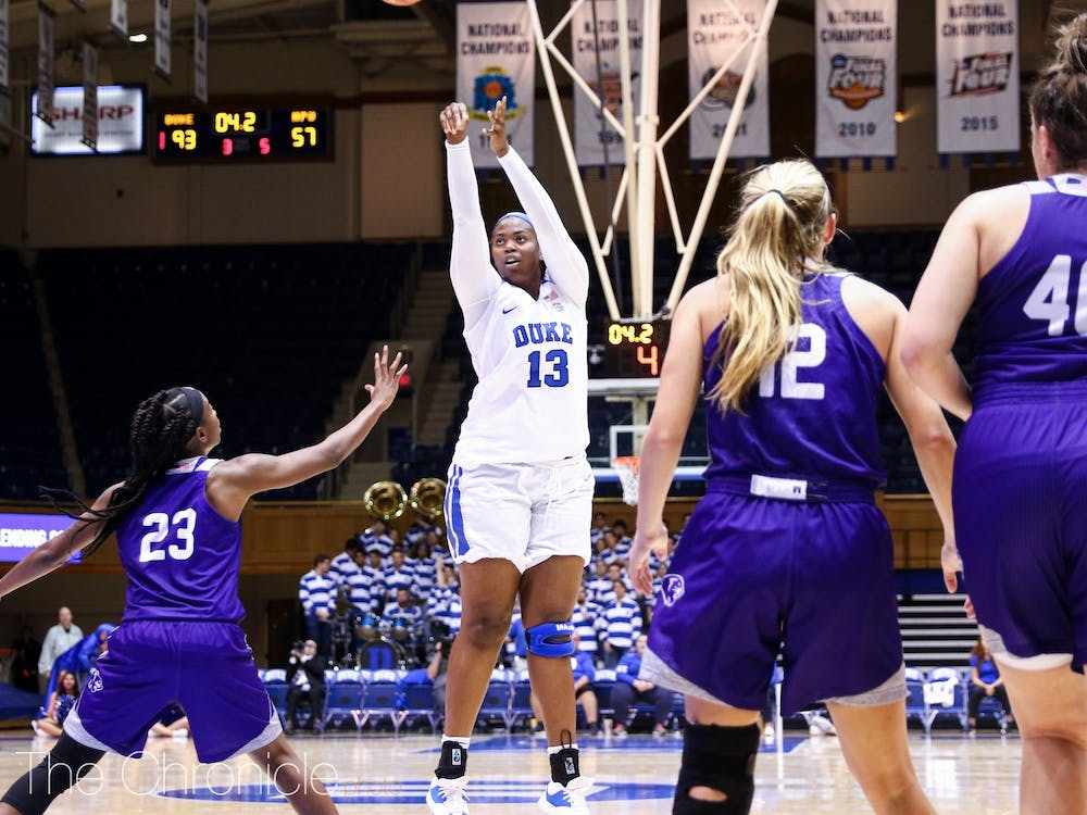 Uchenna Nwoke is looking for a more prominent role this year. She has the talent but has yet to put it all together in a game.