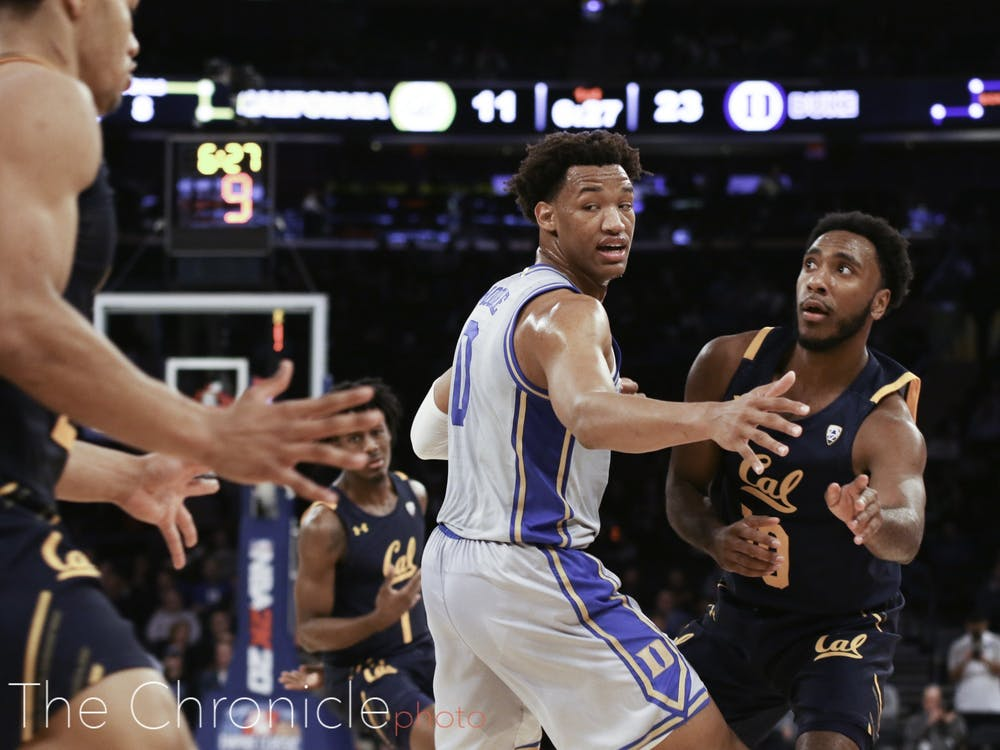 Wendell Moore notched his first career start Thursday.