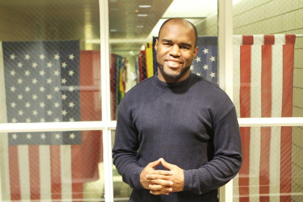 Malik Burnett was elected graduate Young Trustee Monday.