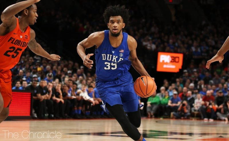 Marvin Bagley dominant