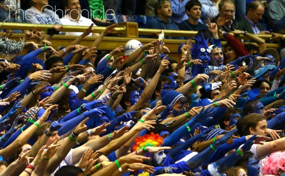 <p>The Cameron Crazies will compete in trivia Wednesday to determine who gets the first spots in line for the North Carolina game.&nbsp;</p>