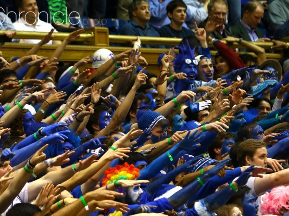 The Cameron Crazies will compete in trivia Wednesday to determine who gets the first spots in line for the North Carolina game.