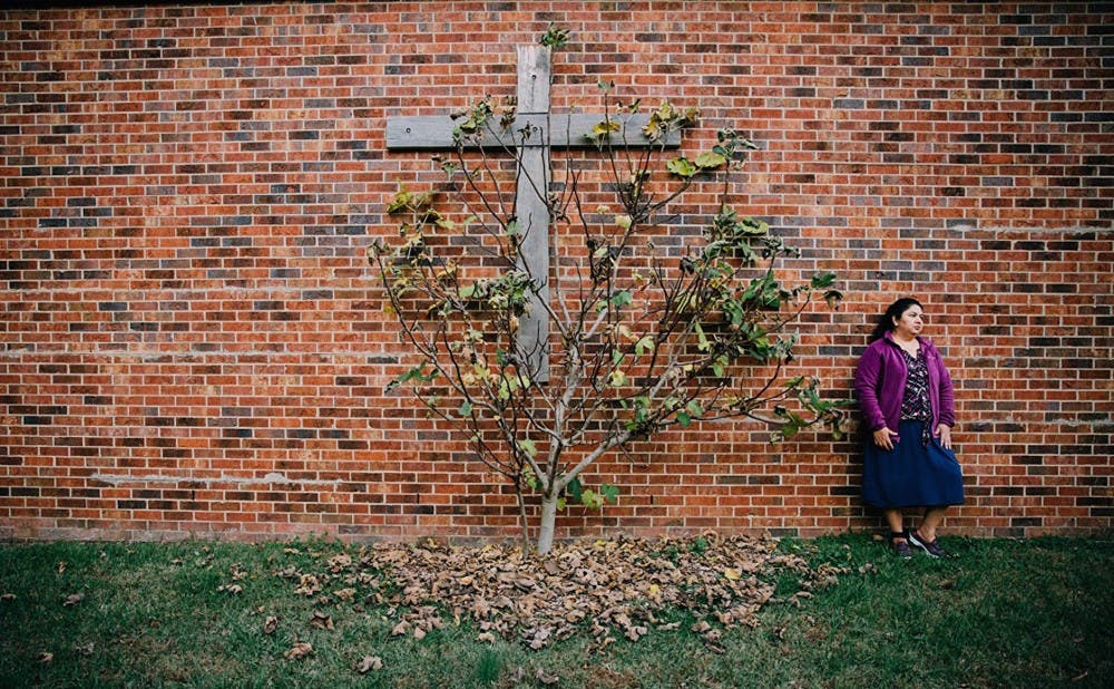 """Santuario"" follows Juana Luz Tobar Ortega as she lives in sanctuary at St. Barnabas Episcopal Church in Greensboro."