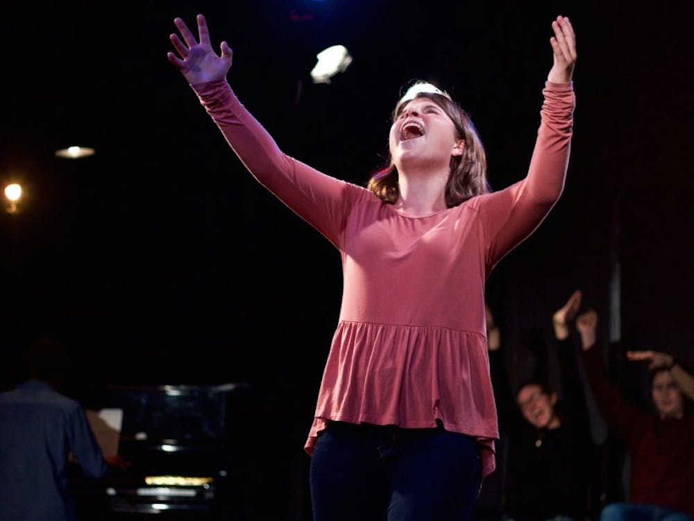 """Duke Players performed """"[title of show]"""" last weekend, following a group of friends as they try to write a Broadway musical."""