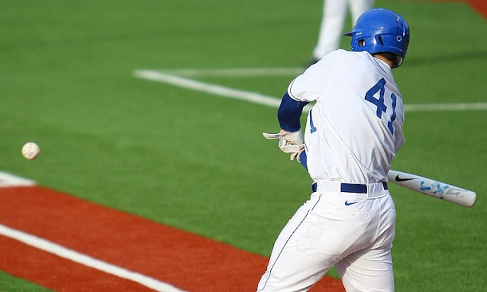 Similar to wooden bats, the new bats in college baseball have resulted in lower power numbers for Duke.